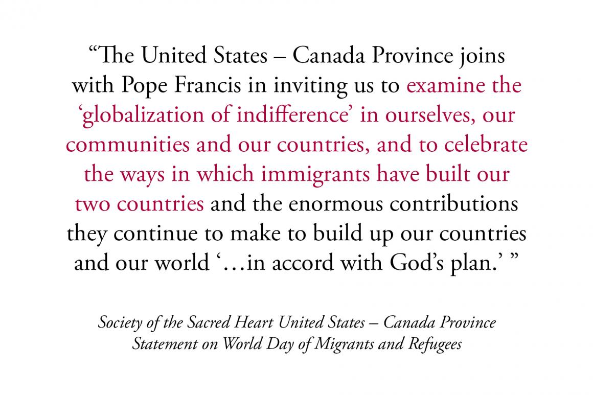 Statement on World Day of Migrants and Refugees
