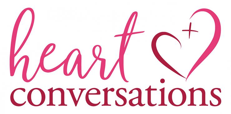 Heart Conversations logo.