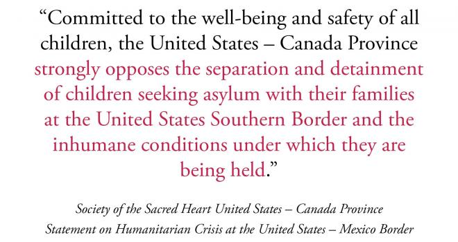Statement on Humanitarian Crisis at the United States-Mexico Border