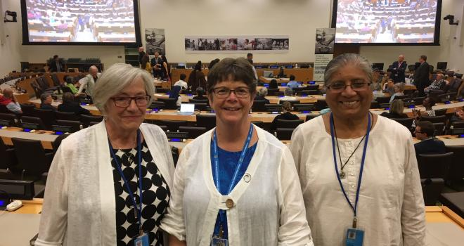 RSCJ Attend UN World Day against Trafficking in Persons