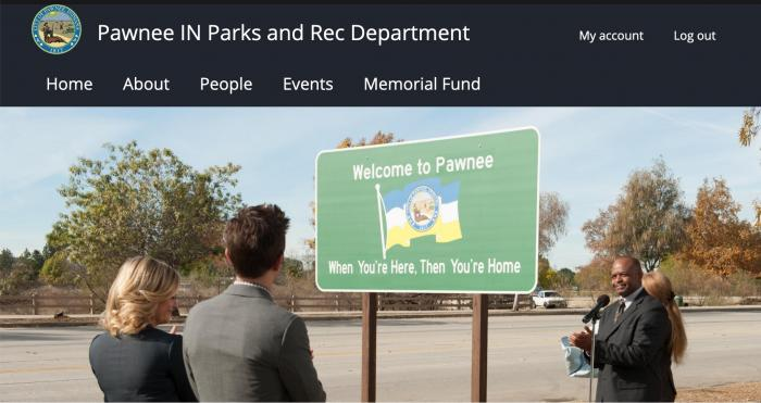 Pawnee screenshot.