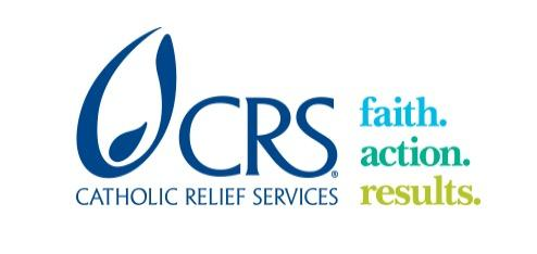 Catholic Relief Services logo.