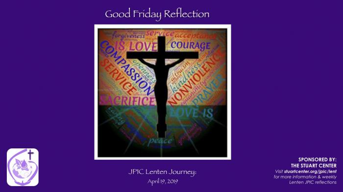 JPIC Lenten Journey: Good Friday