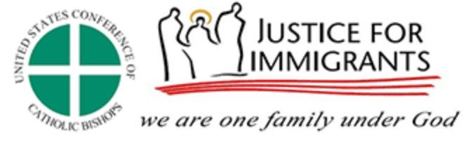 Justice for Immigrants logo.