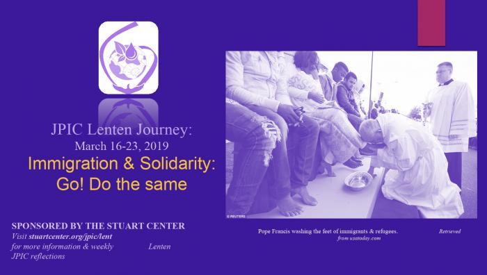 JPIC Lenten Journey: Migration From a Solidarity Heart