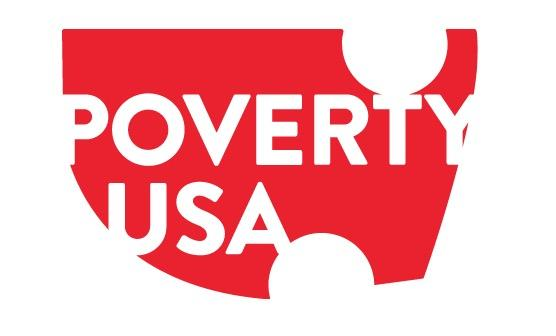 PovertyUSA logo.