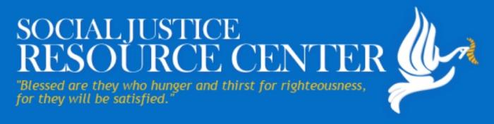 Social Justice Resource Center logo.