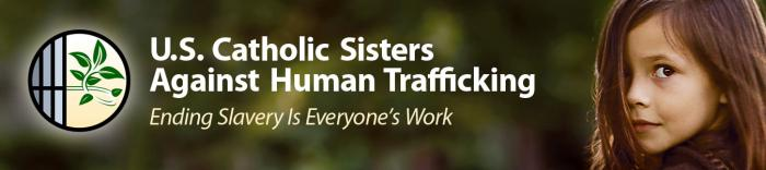 US Catholic Sisters Against Human Trafficking header.