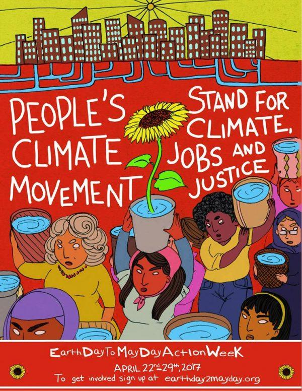 People's Climate March poster