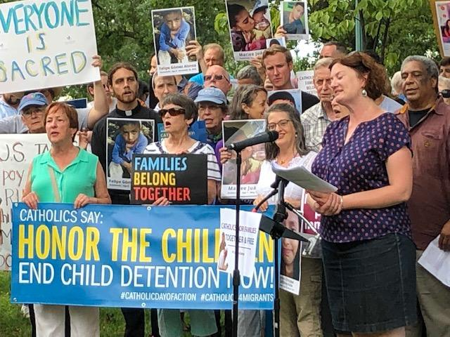 Stuart Center joins with others on behalf of Immigrant Children