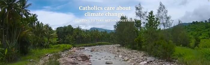 Catholic Climate Covenant banner image.